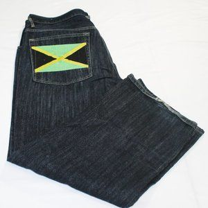 Men's 38x 32  size men  reggae denim  pants